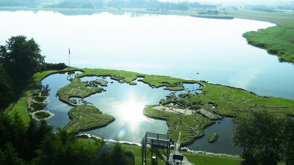 Verdenskortet ved Klejtrup Sø